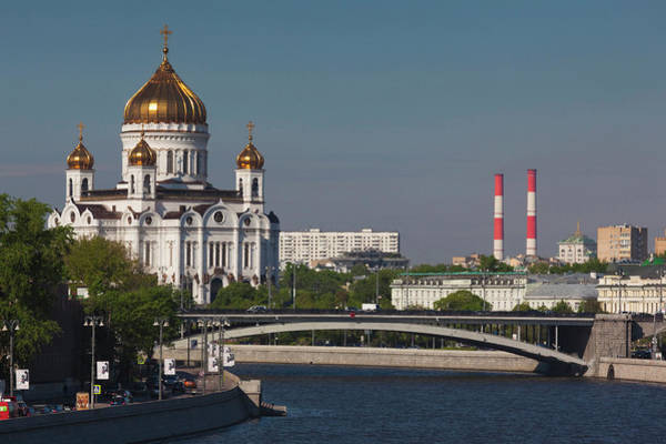 Cathedral Of Christ The Savior Photograph - Cathedral Of Christ The Saviour At by Danita Delimont