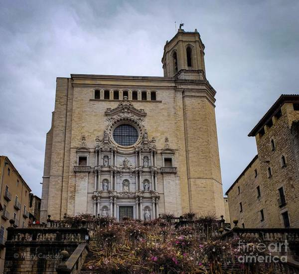 Photograph - Cathedral Of Girona  by Mary Capriole