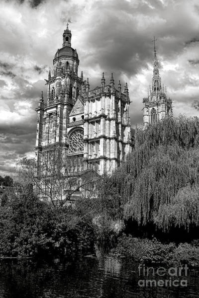 Wall Art - Photograph - Cathedral Of Our Lady Of Evreux  by Olivier Le Queinec