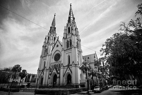 Wall Art - Photograph - Cathedral Of St John The Baptist Savannah Georgia Usa by Joe Fox