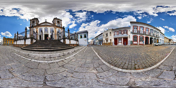 Minas Gerais Wall Art - Photograph - Cathedral by Photo By William Giles