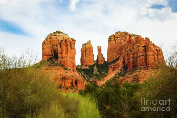 Photograph - Cathedral Rock Back O' Beyond View by Jon Burch Photography