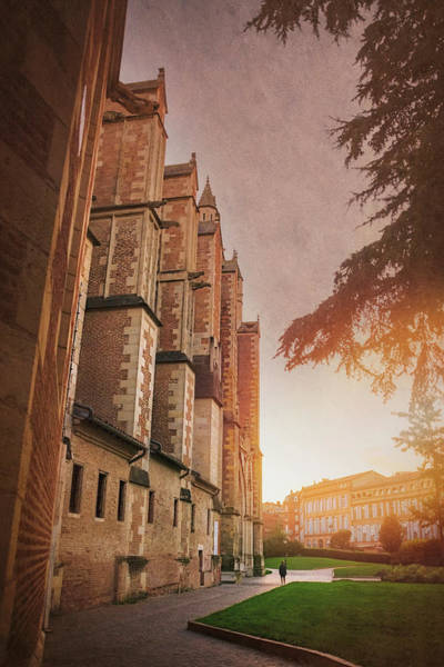 Pyrenees Photograph - Cathedral Saint Etienne Toulouse France by Carol Japp