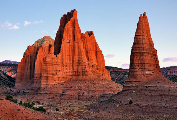 Photograph - Cathedral Sunrise by Leland D Howard