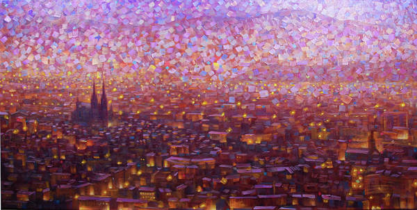 Painting - Cathedrale 1 by Rob Buntin