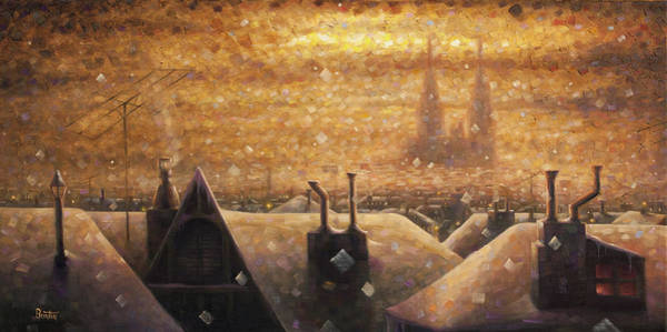 Painting - France Cathedral 4 by Rob Buntin