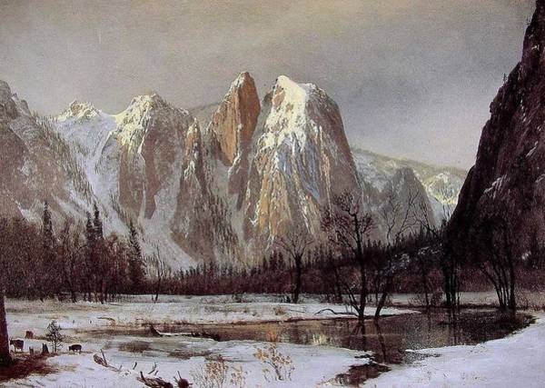 Russian Orthodox Church Painting - Cathedral_rock by Celestial Images