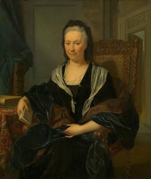 Painting - Catherina Hochepied by Nikolaas Verkolje
