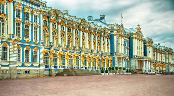 Photograph - Catherine Palace by Mick Burkey