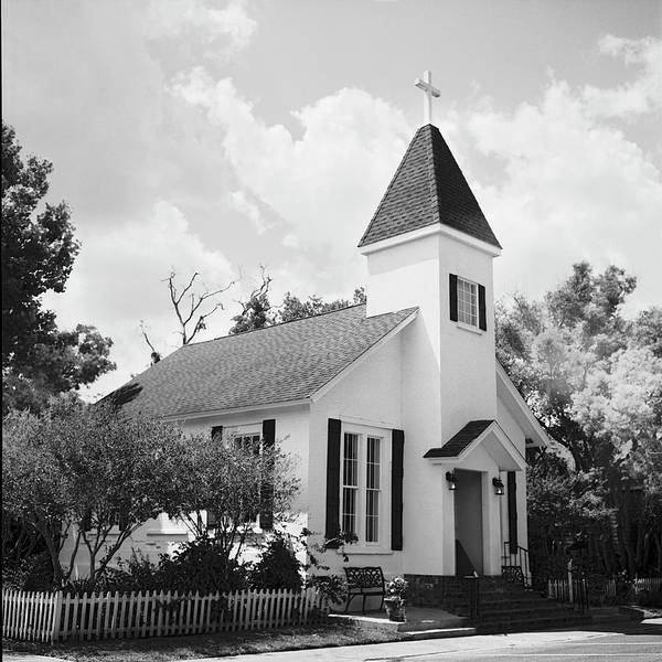 Wall Art - Photograph - Catholic Church In St Marys, Ga by Rudy Umans
