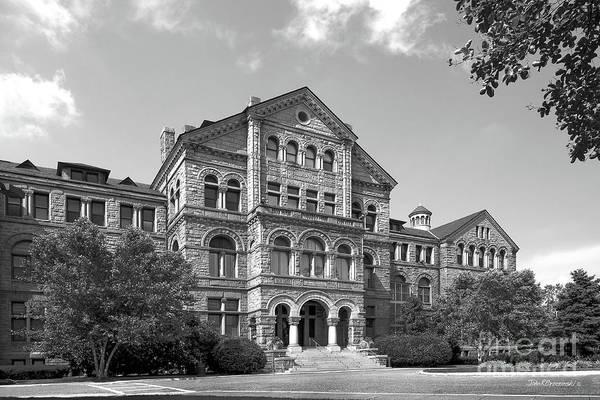 Photograph - Catholic University Of America Mc Mahon Hall by University Icons