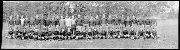 Wall Art - Photograph - Catholic University Varsity Football by Fred Schutz Collection