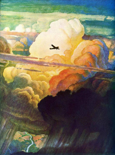 Wall Art - Painting - Catmota by NC Wyeth
