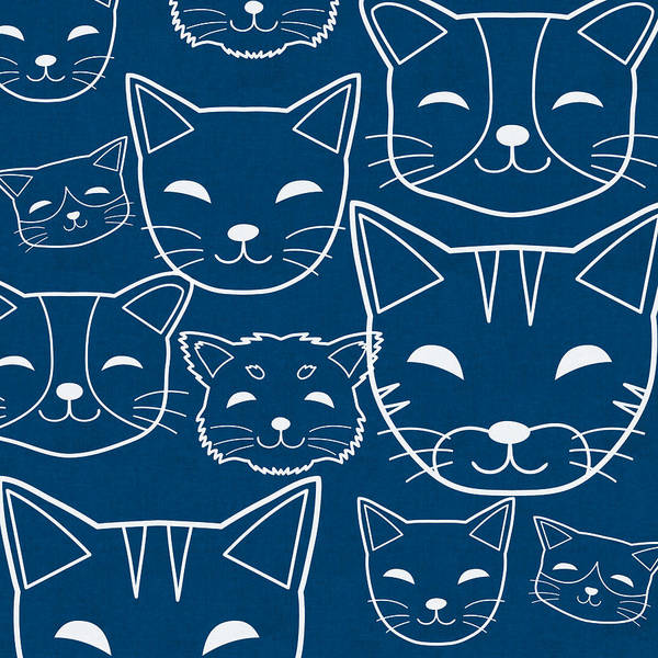 Wall Art - Digital Art - Cats- Art By Linda Woods by Linda Woods