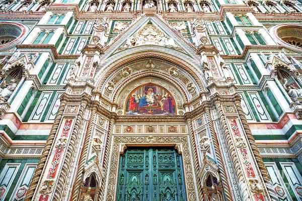 Wall Art - Photograph - Cattedrale Di Santa Maria Del Fiore Main Portal by John Rizzuto