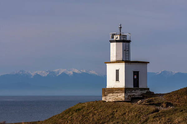 Photograph - Cattle Point Lighthouse by ProPeak Photography
