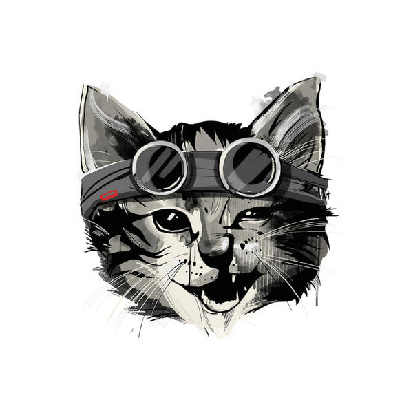 New Trend Digital Art - Catto by Crbn Dsgn