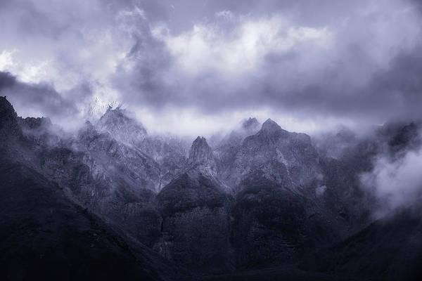 Wall Art - Photograph - Caucasus Mountains by Adrian Malanca