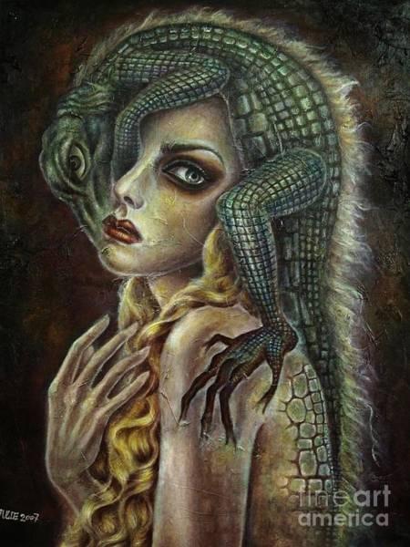 Cauchemar Painting - Cauchemar Sos by Julie Kitamura