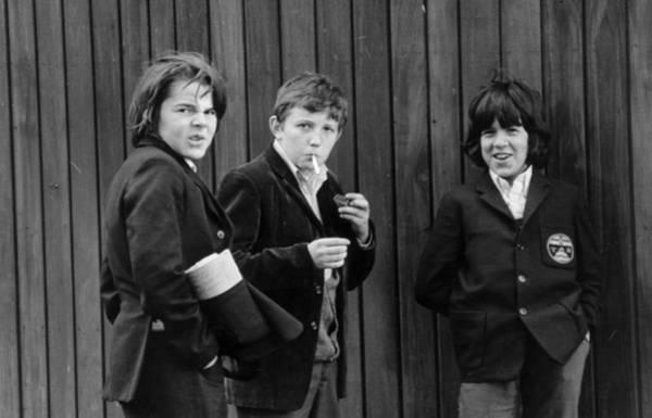 Uniform Photograph - Caught Smoking by Evening Standard