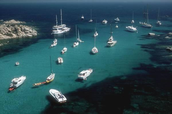 Yacht Photograph - Cavallo Coast by Slim Aarons