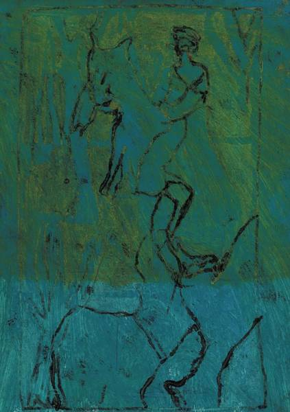 Painting - Cavalry 11 by Artist Dot