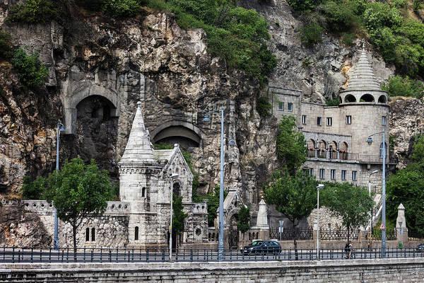Wall Art - Photograph - Cave Church Of Gellert Hill In Budapest by Artur Bogacki