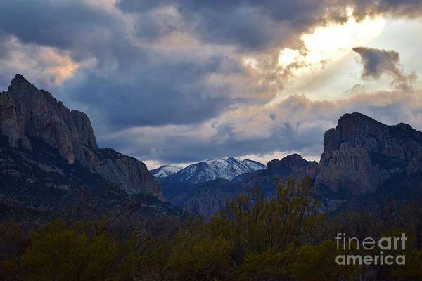 Coronado National Forest Photograph - Cave Creek Canyon Snow by Janet Marie