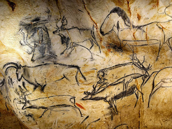 Photograph - Cave Painting 11 by Andrew Fare