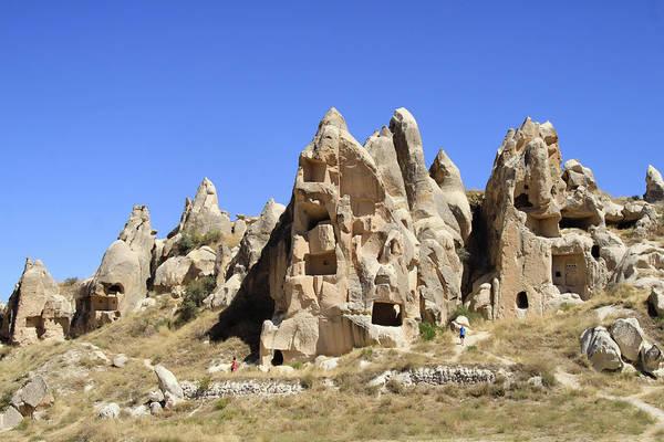 Cappadocia Photograph - Caves In Cappadocia by Wu Swee Ong