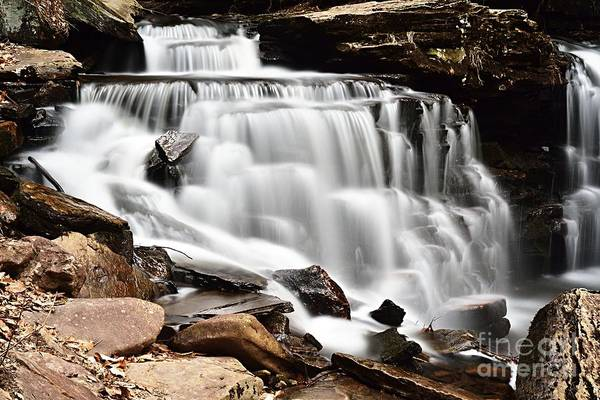 Photograph - Cayuga Falls by Larry Ricker