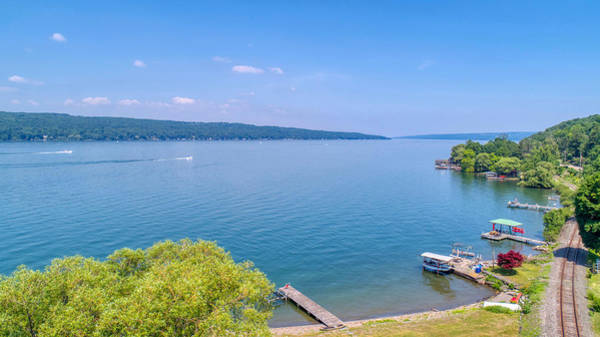 Photograph - Cayuga Lake by Ants Drone Photography