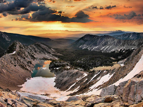 Altitude Photograph - Cdt Sunrise by Leland D Howard