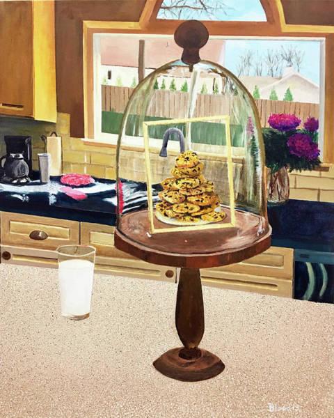 Painting - Ce Ne Sont Pas Du Lait Et Des Biscuits by Thomas Blood