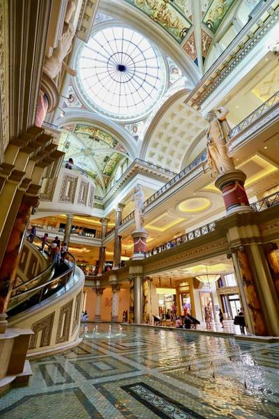 Photograph - Caesar's Palace by Sagittarius Viking