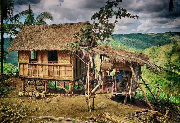 Photograph - Cebu Home In The Phillipines by Robert Woodward