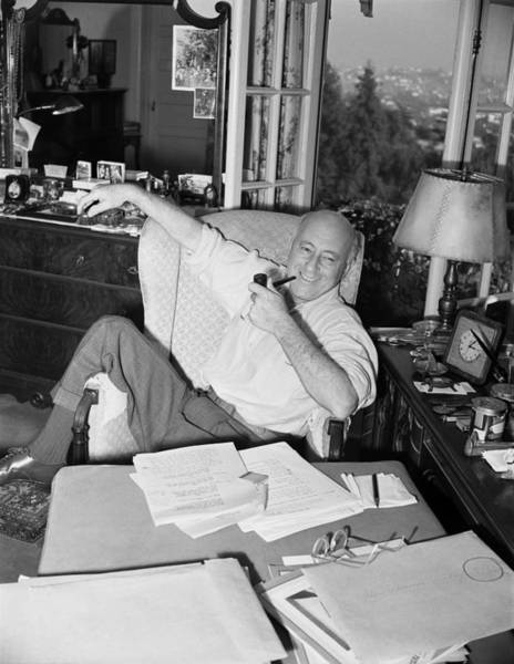 Photograph - Cecil B. Demille Portrait Session by Earl Theisen Collection