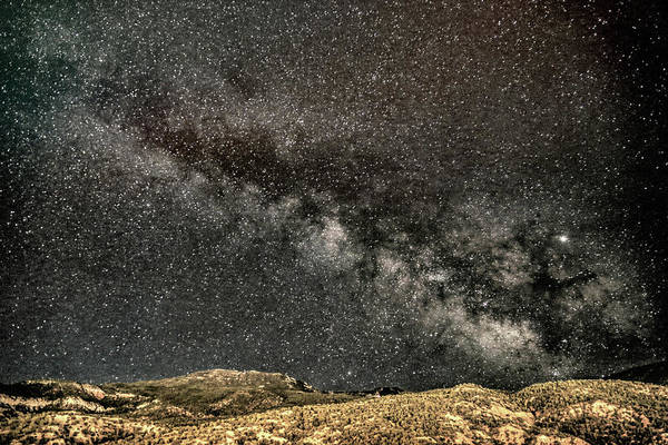 Wall Art - Photograph - Cedar City Milky Way by Donna Kennedy