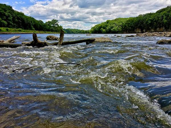 Photograph - Cedar River Iowa by Dan Miller