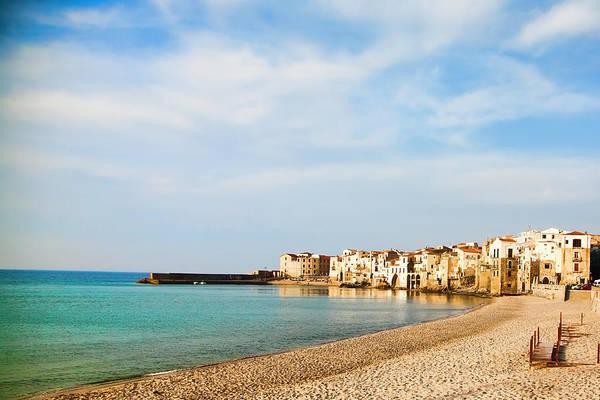 Sicily Photograph - Cefalu Coast by Rococofoto