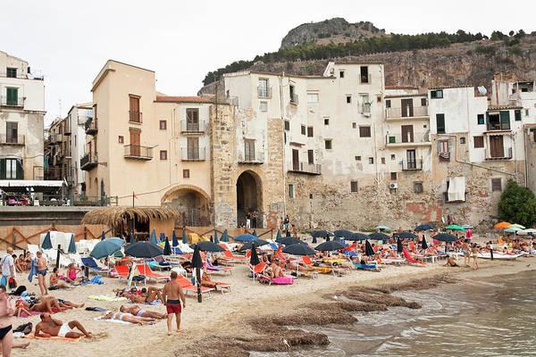 Sicily Photograph - Cefalu, Palermo, Sicily by Latitudestock - Mel  Longhurst