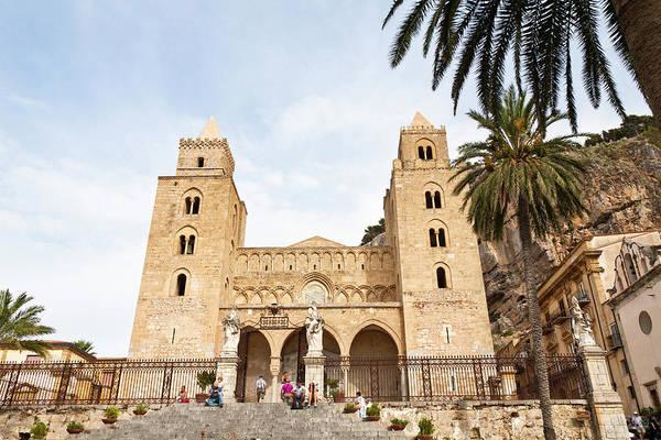 Sicily Photograph - Cefalu, Sicily by Latitudestock - Mel  Longhurst