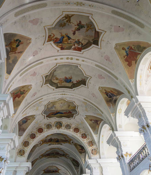 Wall Art - Photograph - Ceilign Frescoes by Teresa Mucha