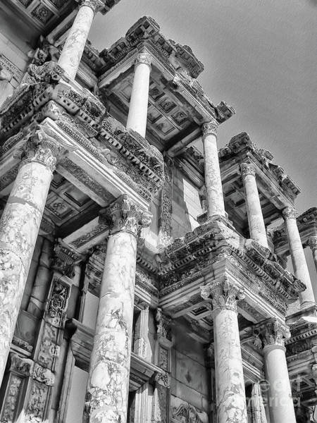 Photograph - Celcus Library At Ephesus by Lois Bryan