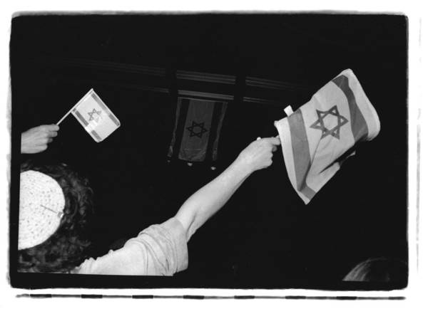 St. Petersburg Photograph - Celebrating The State Of Israel by Herb Snitzer