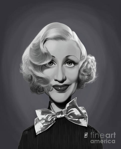 Digital Art - Celebrity Sunday - Ginger Rogers by Rob Snow