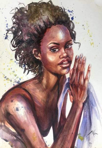 Painting - Celeste  by Katerina Kovatcheva