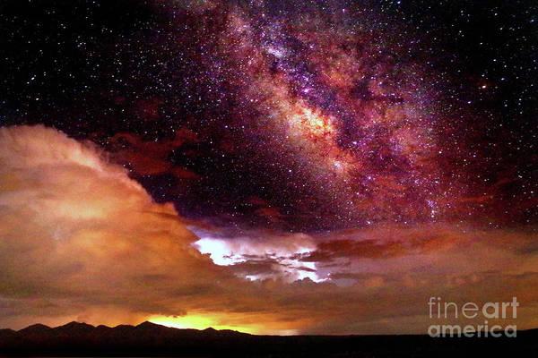 Wall Art - Photograph - Celestial Storm by Douglas Taylor