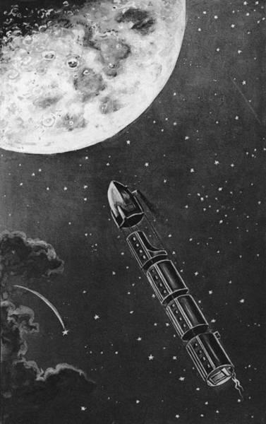 Wall Art - Digital Art - Celestial Travel by Hulton Archive