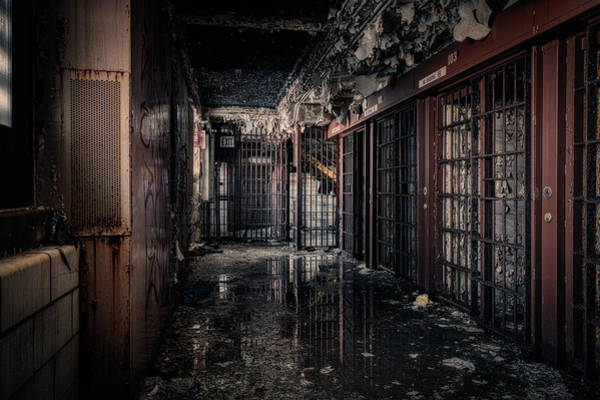 Wall Art - Photograph - Cellblock Reflections by Mike Burgquist